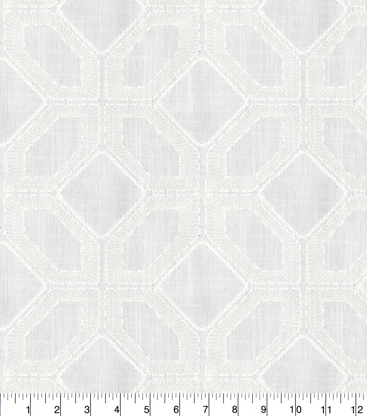 Home Decor 8\u0022x8\u0022 Fabric Swatch-Barraud Emb Cloud