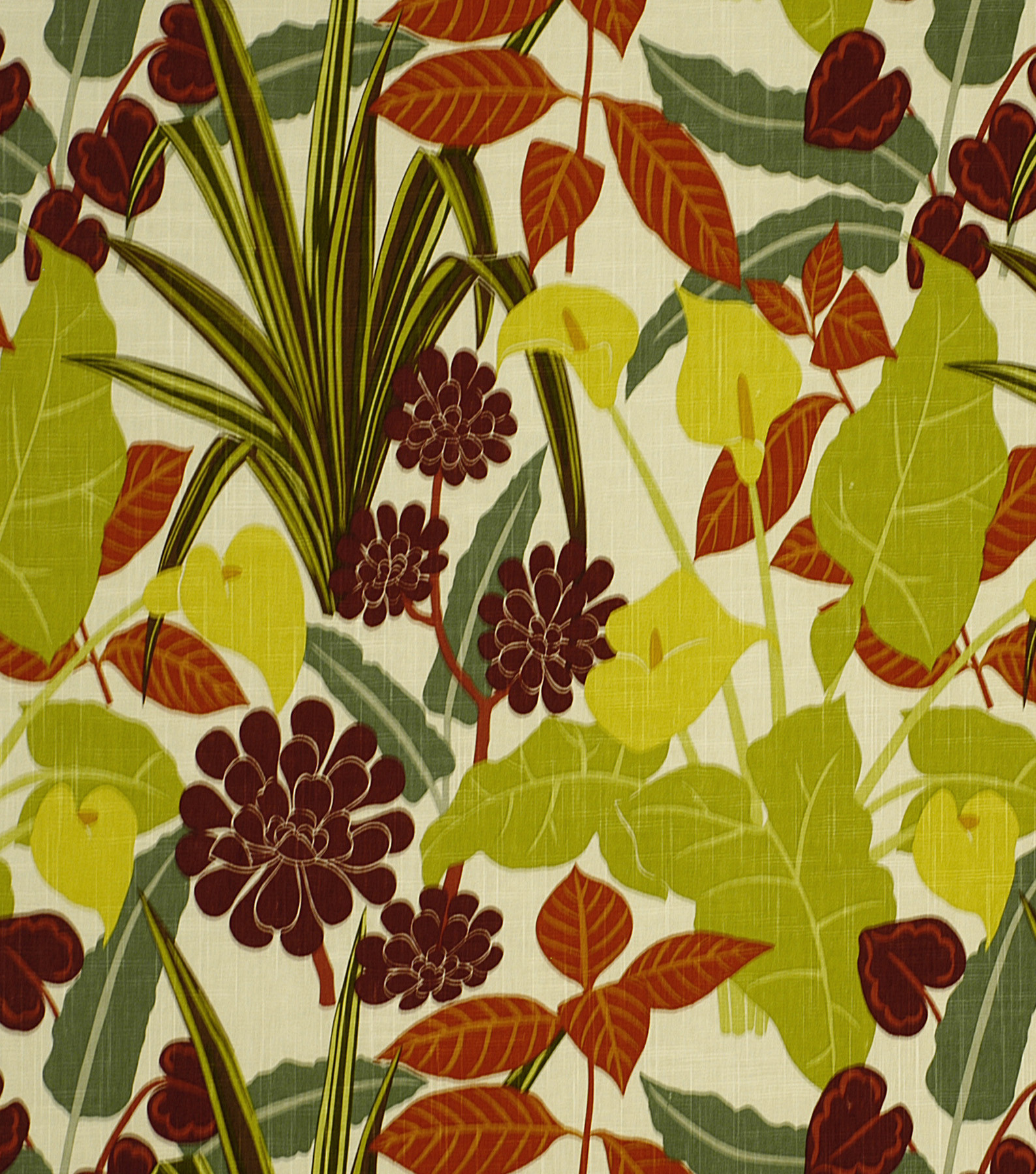 Robert Allen @ Home Upholstery Fabric 54\u0022-Rowlily Jungle