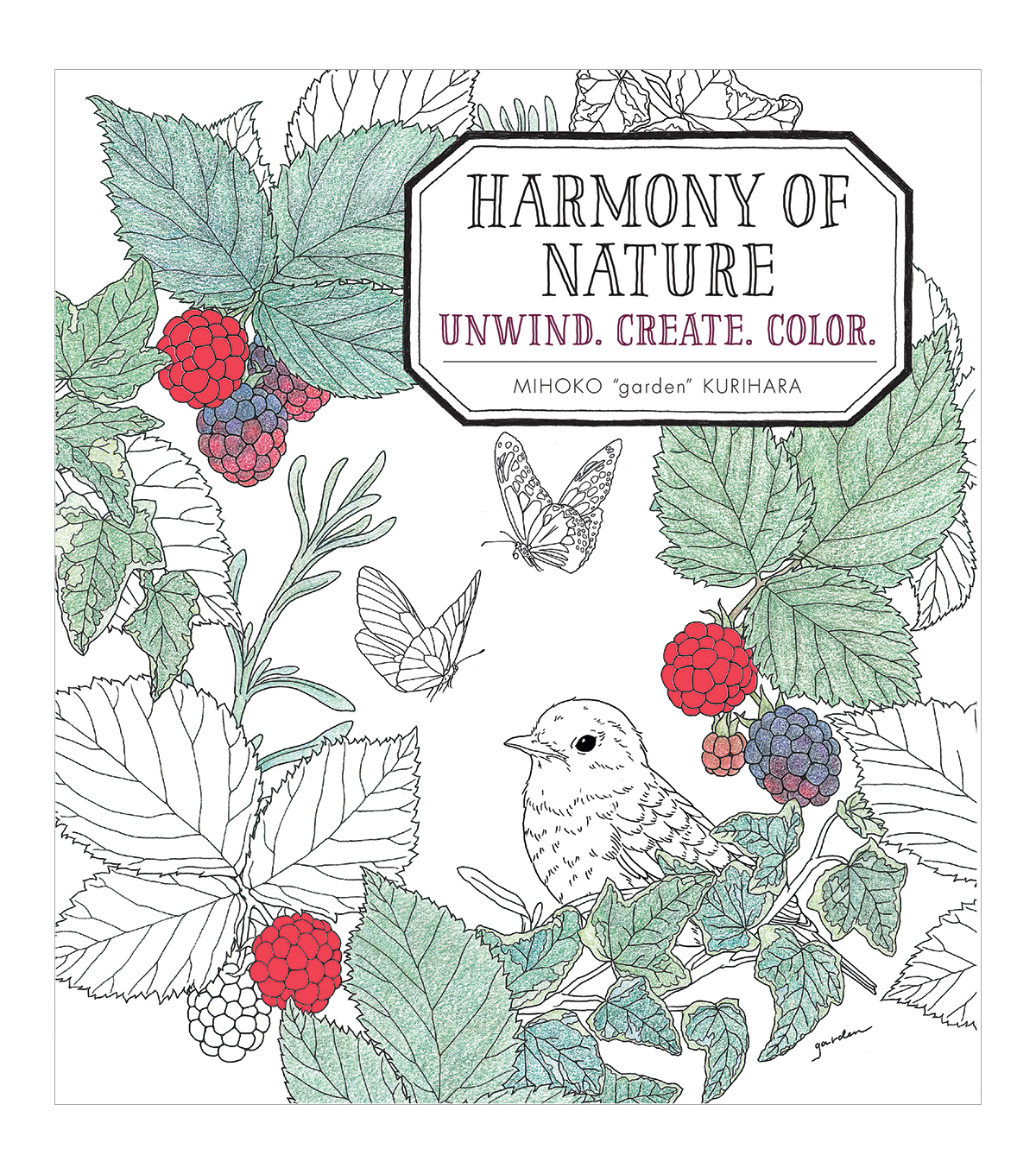 Harmony Of Nature Coloring Book | JOANN
