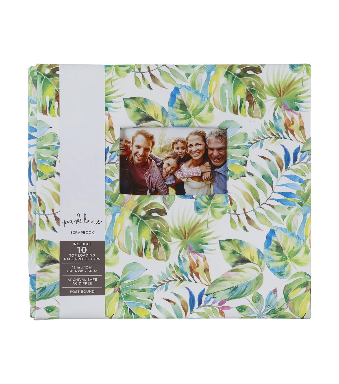 Park Lane Scrapbook 12 X12 Palm Leaf