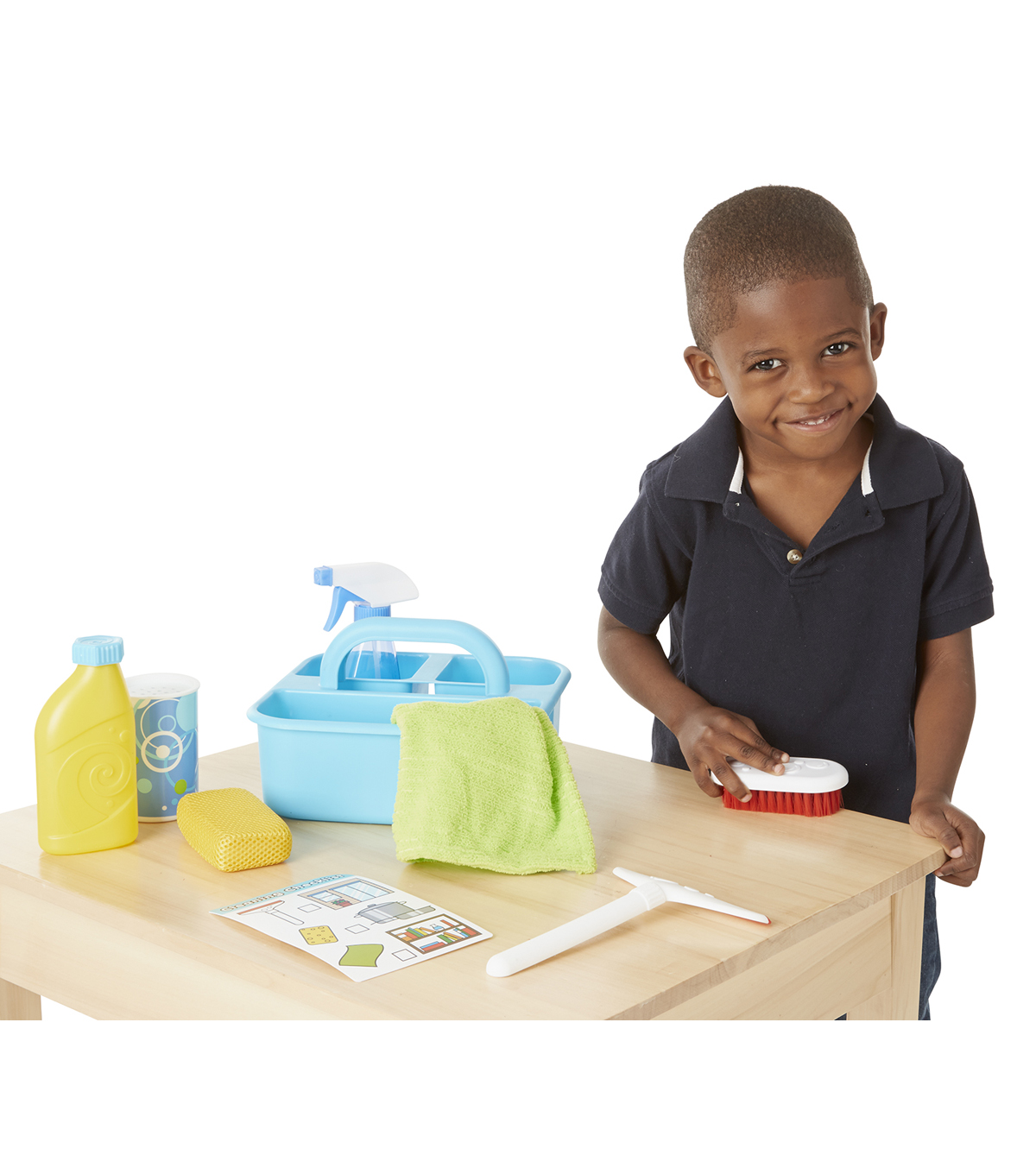 Melissa & Doug Lets Play House Spray Squirt  Squeege