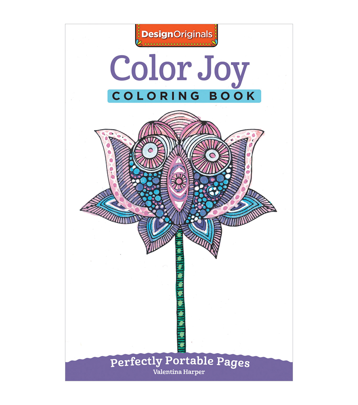 Adult Coloring Book-Design Originals Color Joy