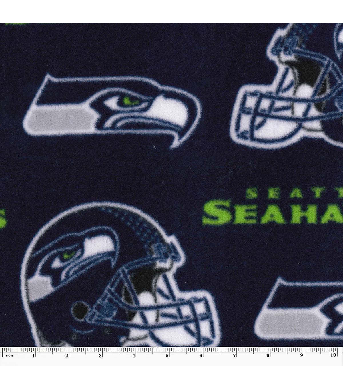 Seattle Seahawks Fleece Fabric 58