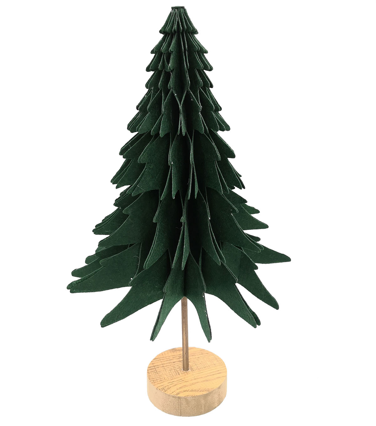 Handmade Holiday Christmas 18\u0027\u0027 Felt Tree-Dark Green