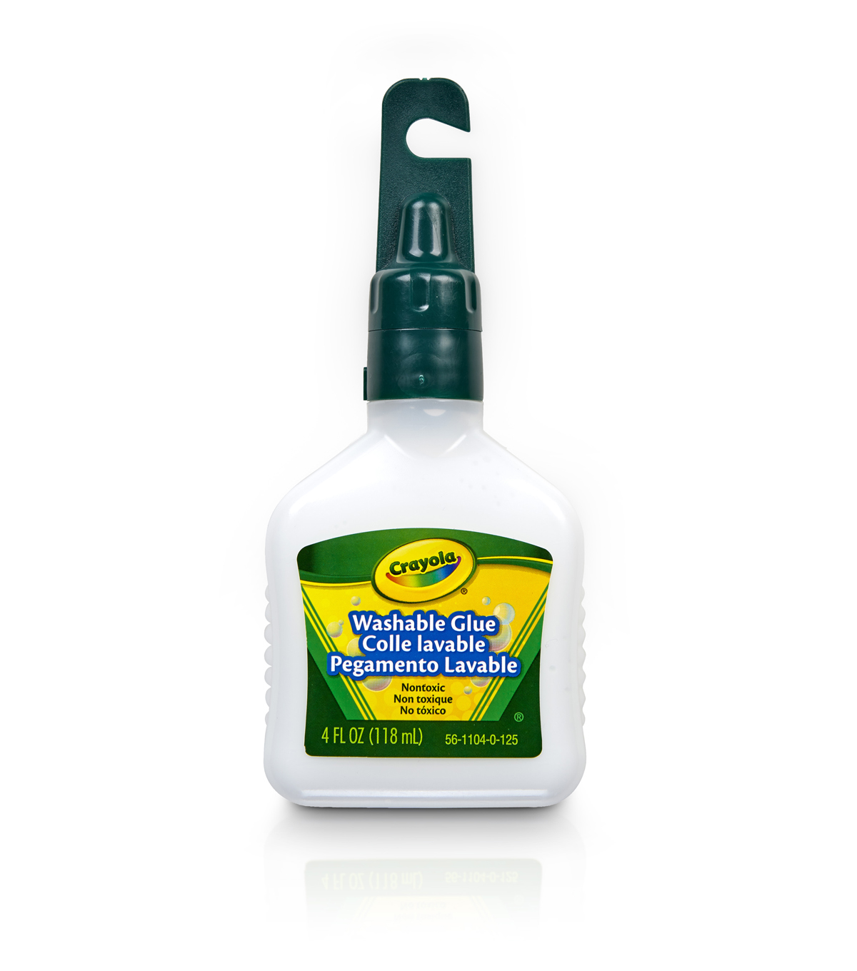 Crayola Washable No-Run School Glue-4 Ounce