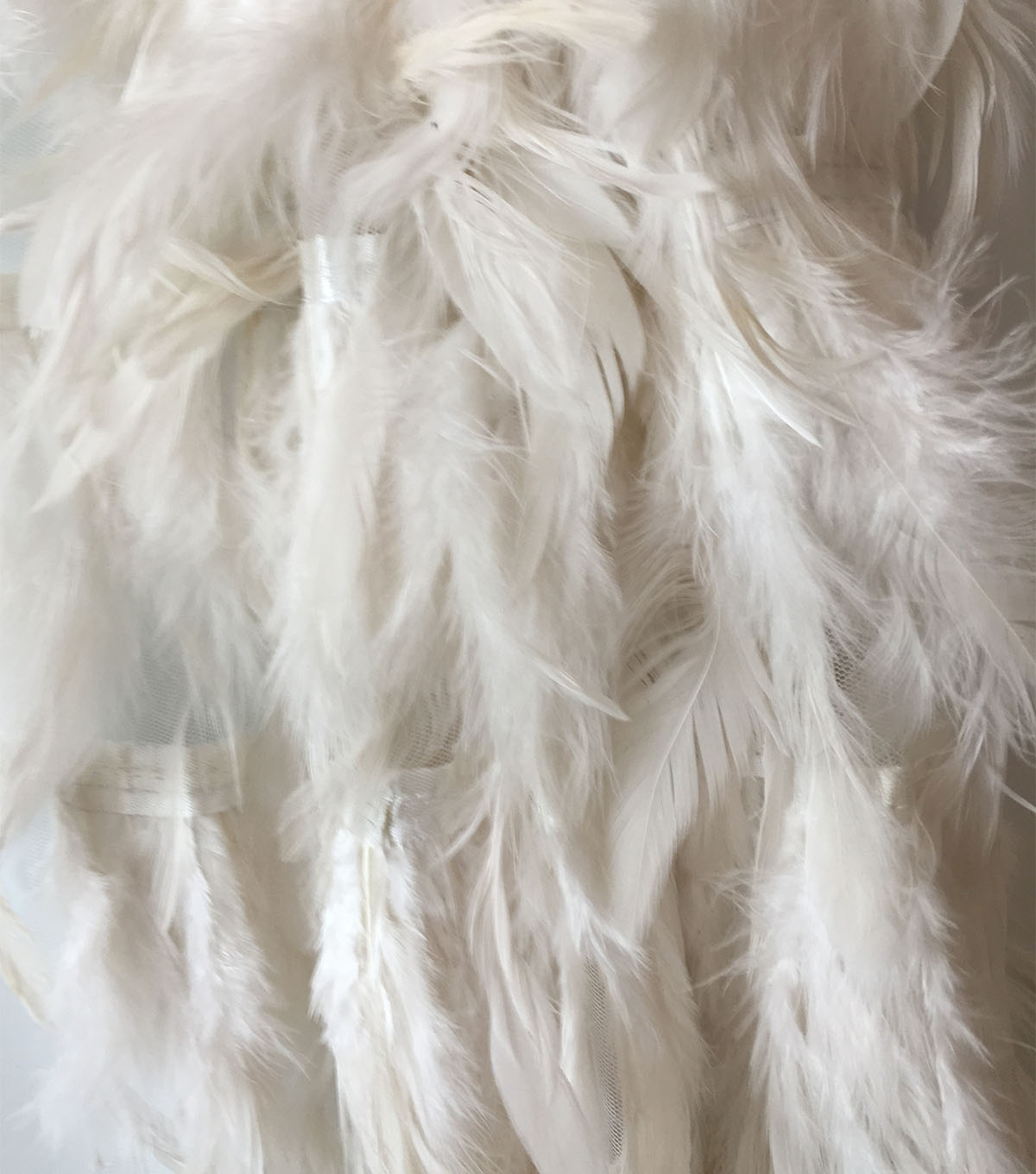Gianna Heavy Solid Feather Fabric 55\u0027\u0027