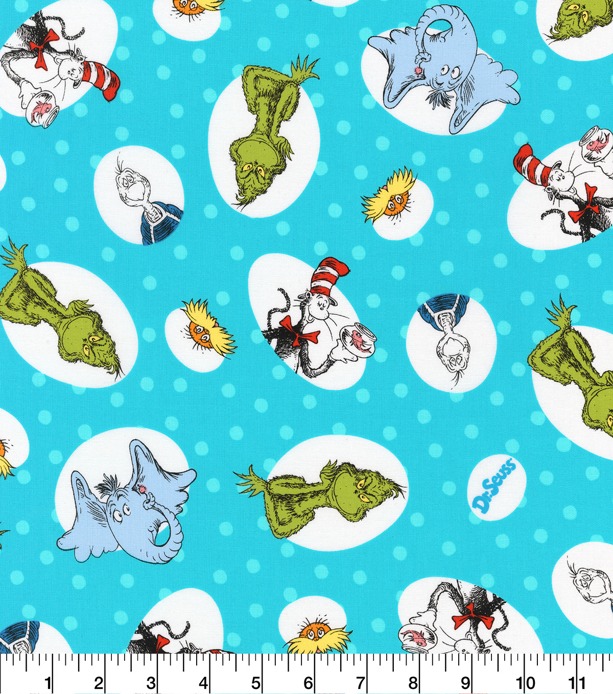 Dr. Suess Cotton Fabric