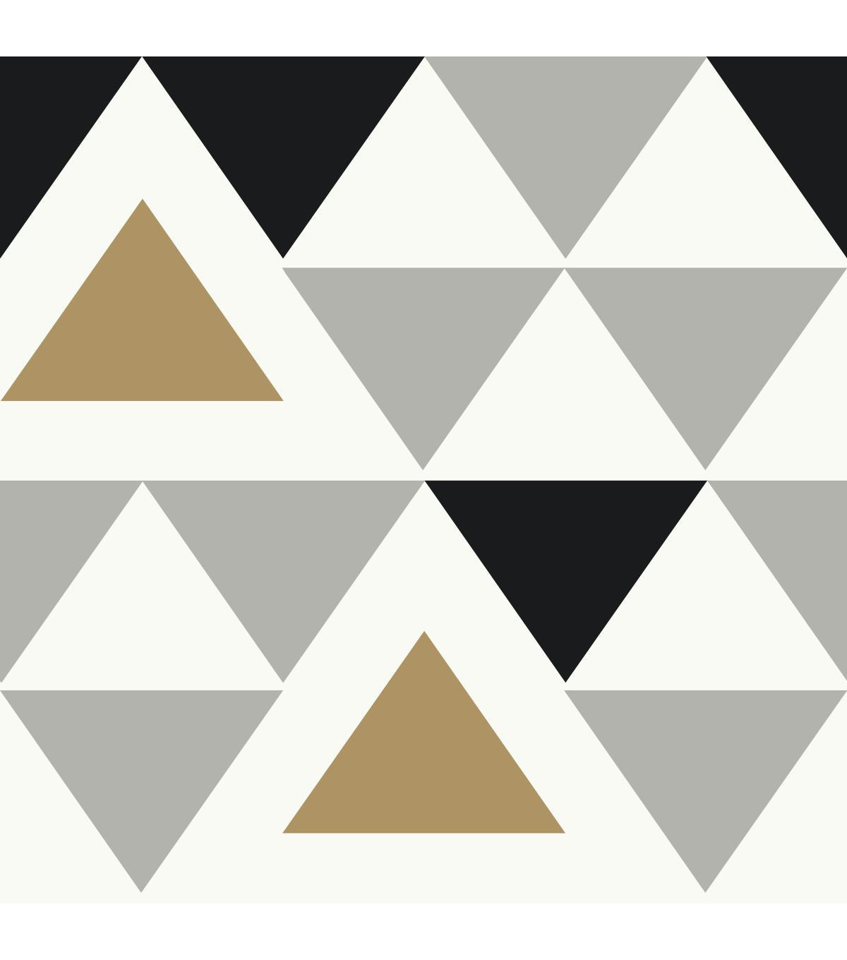 York Wallcoverings Wallpaper Geometric Triangle
