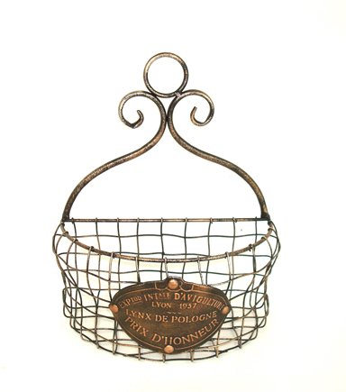 Bloom Room Small Metal Wire Basket