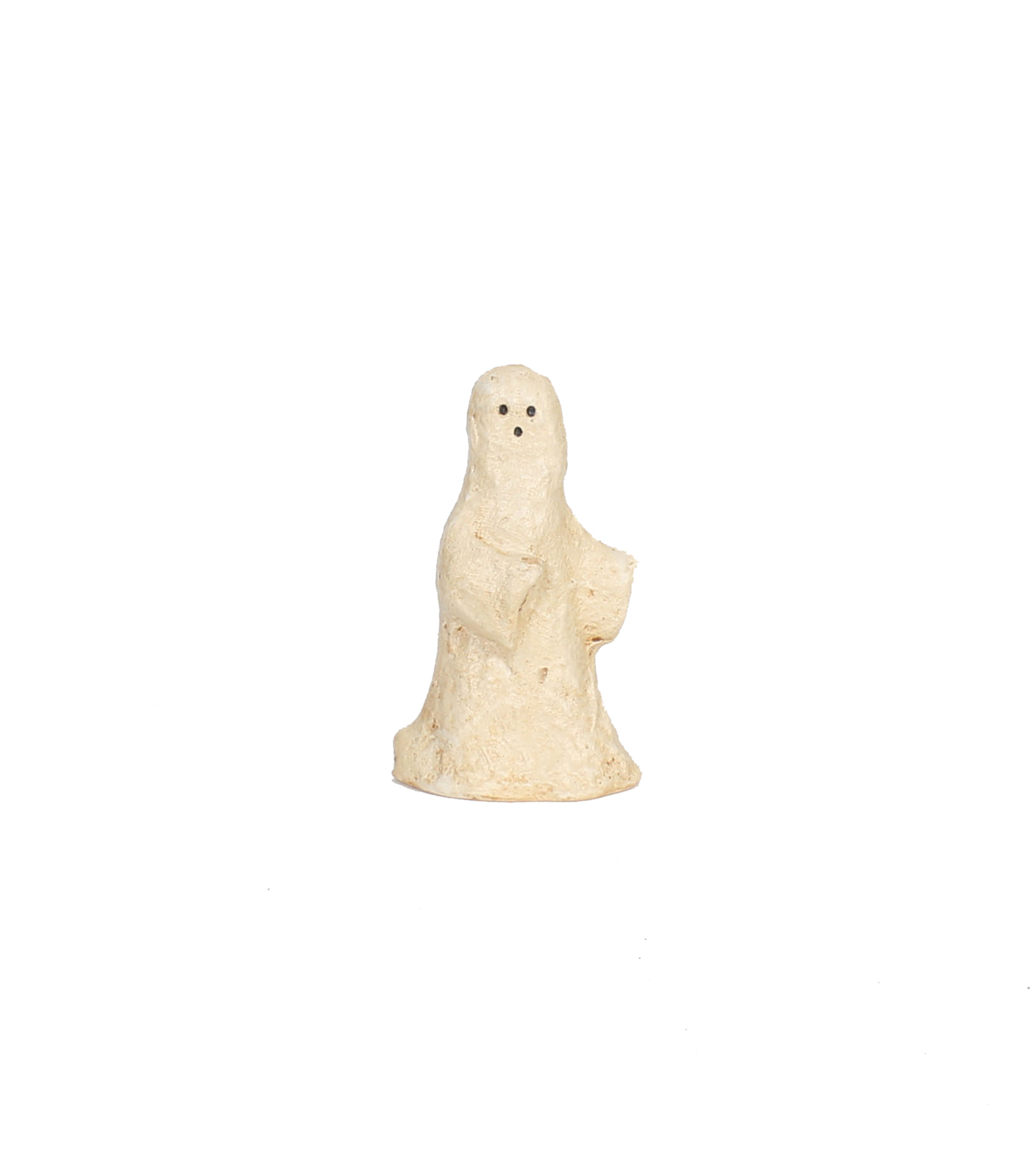 Maker\u0027s Halloween Small Paper Pulp Ghost Tabletop Decor