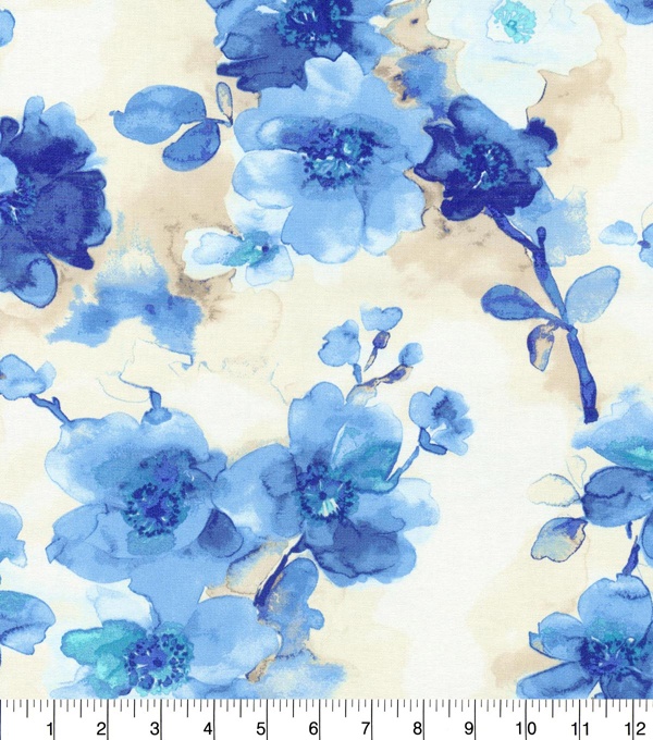 Home Decor 8\u0022x8\u0022 Fabric Swatch-Waverly Tree Blossom River