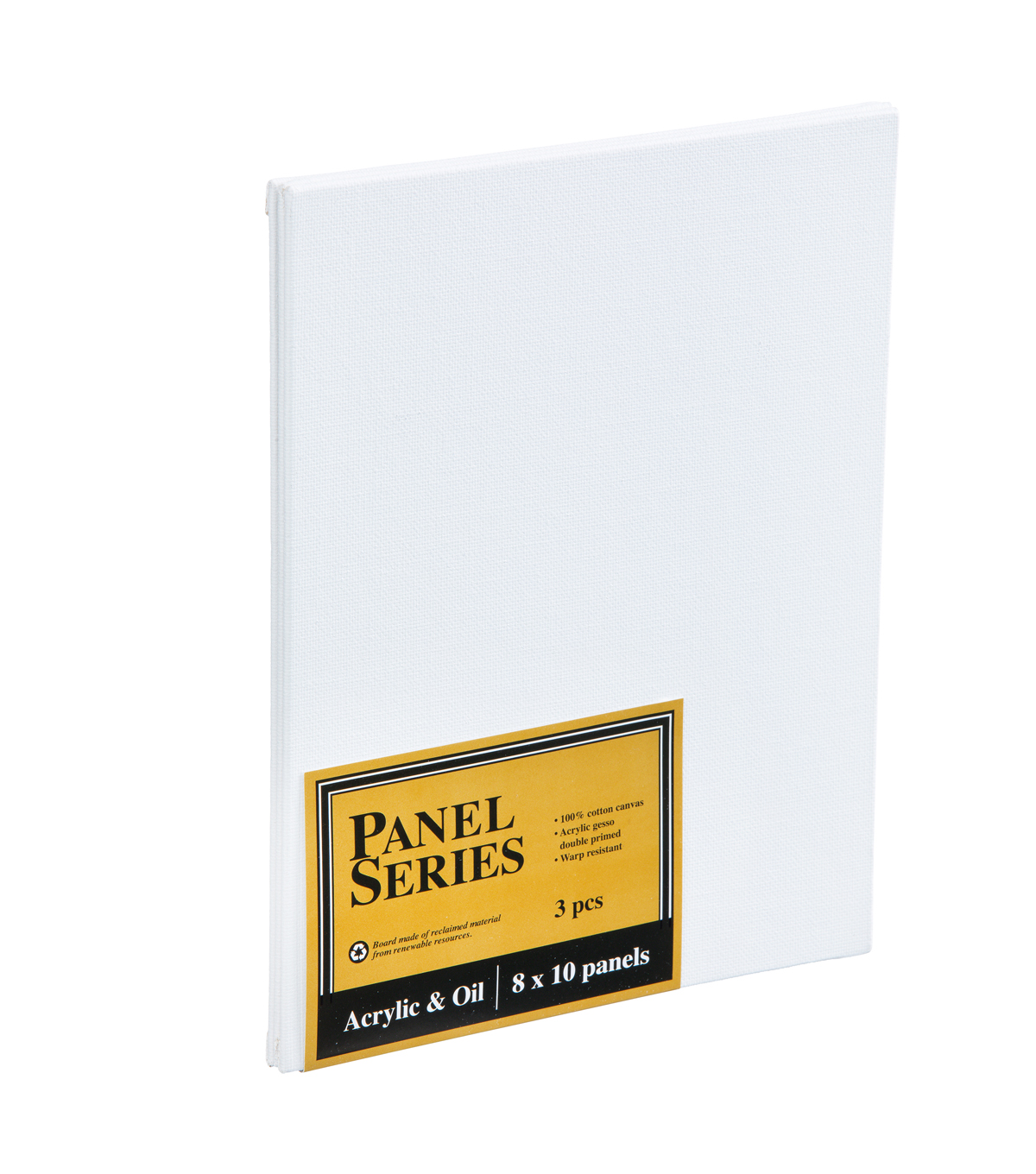 Value Pack Canvas Panels-8\u0022x10\u0022 3PK