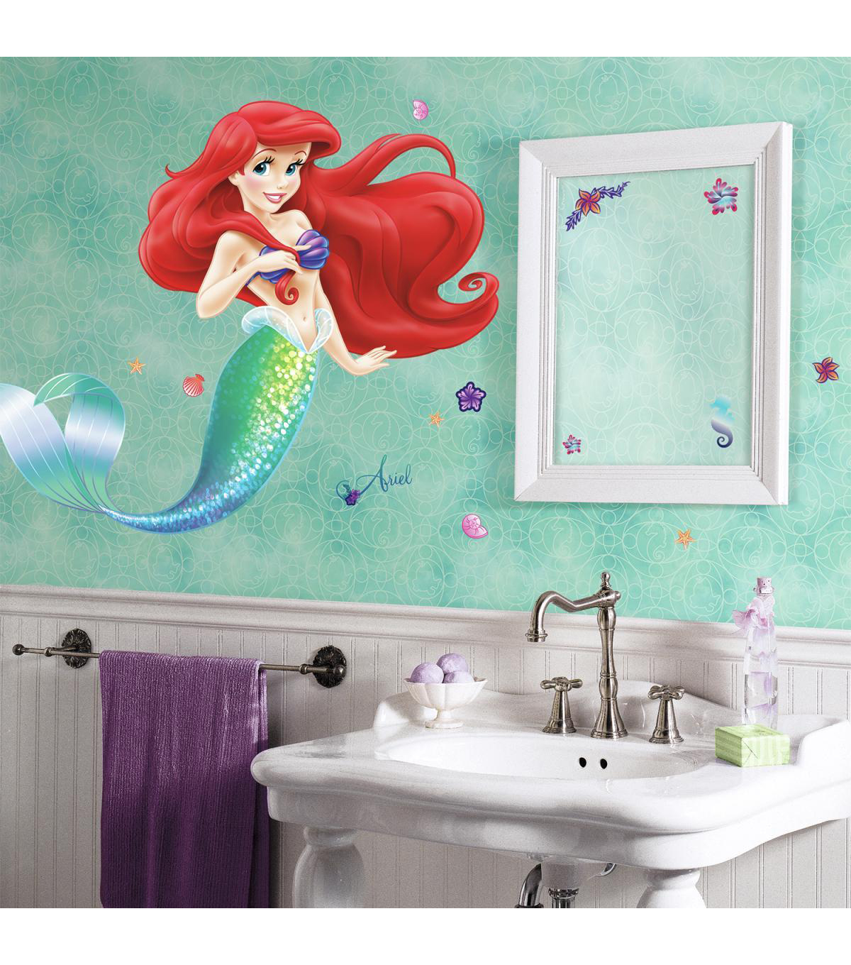 York Wallcoverings Peel & Stick Wall Decals-The Little Mermaid