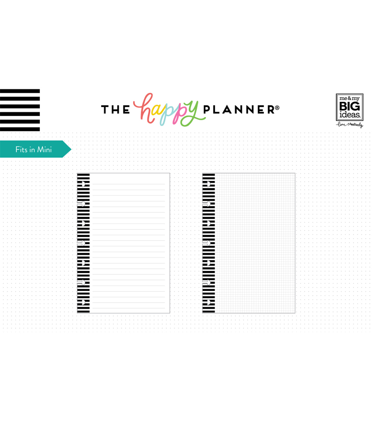 The Happy Planner Mini Fill Paper