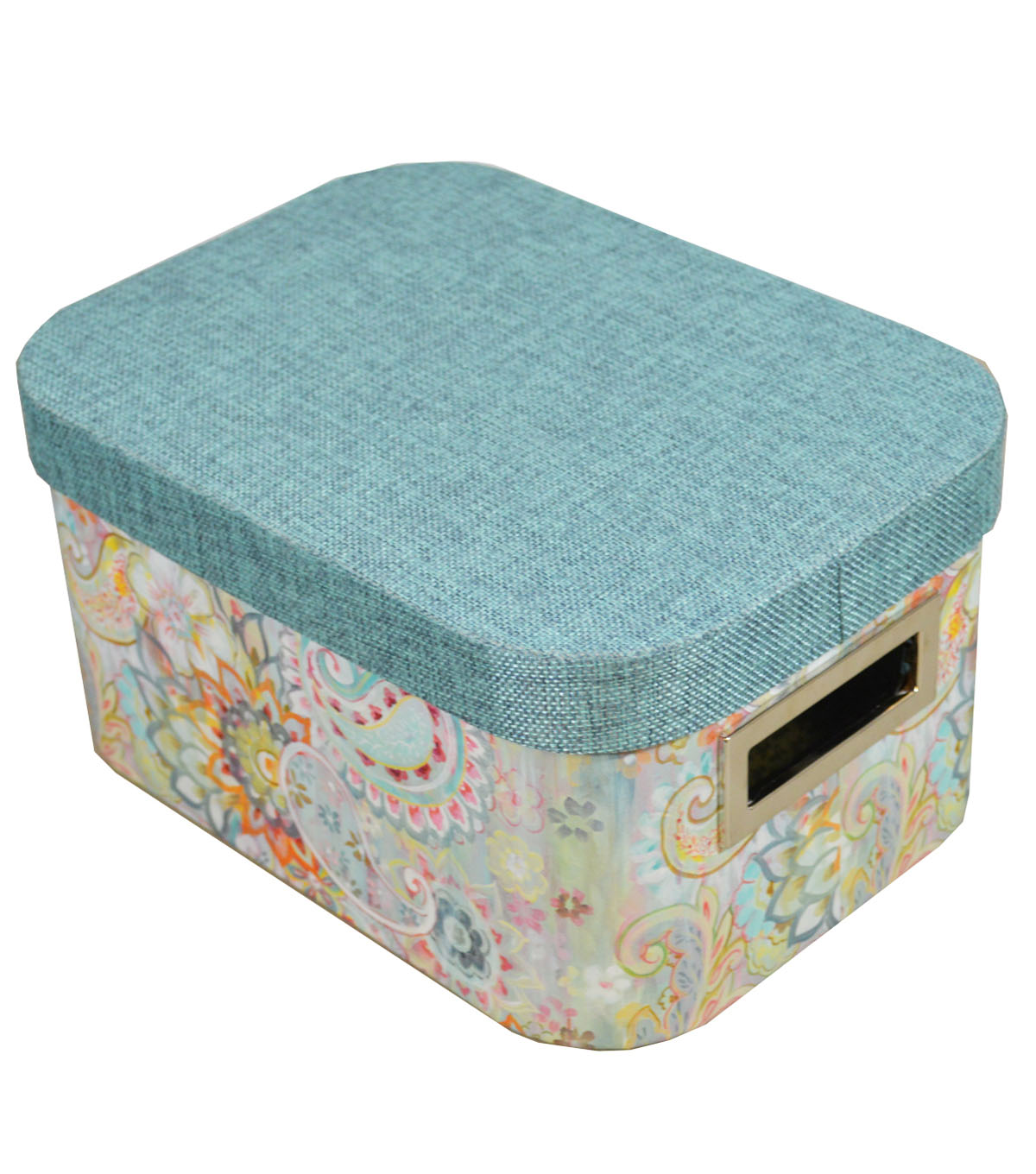 Organizing Essentials Small Oval Storage Box-Boho Japonais