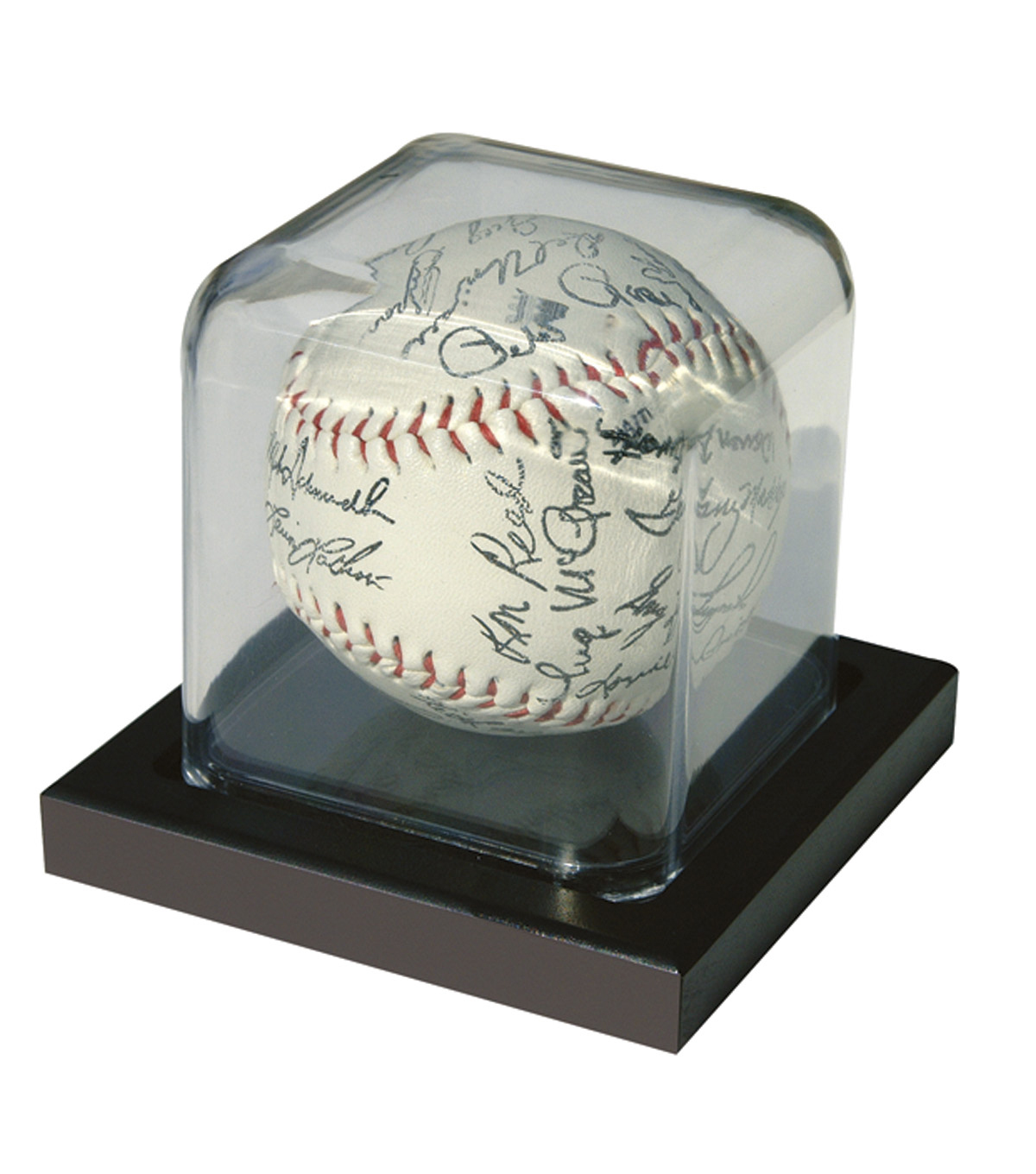 Baseball Display Case 3X3-Black