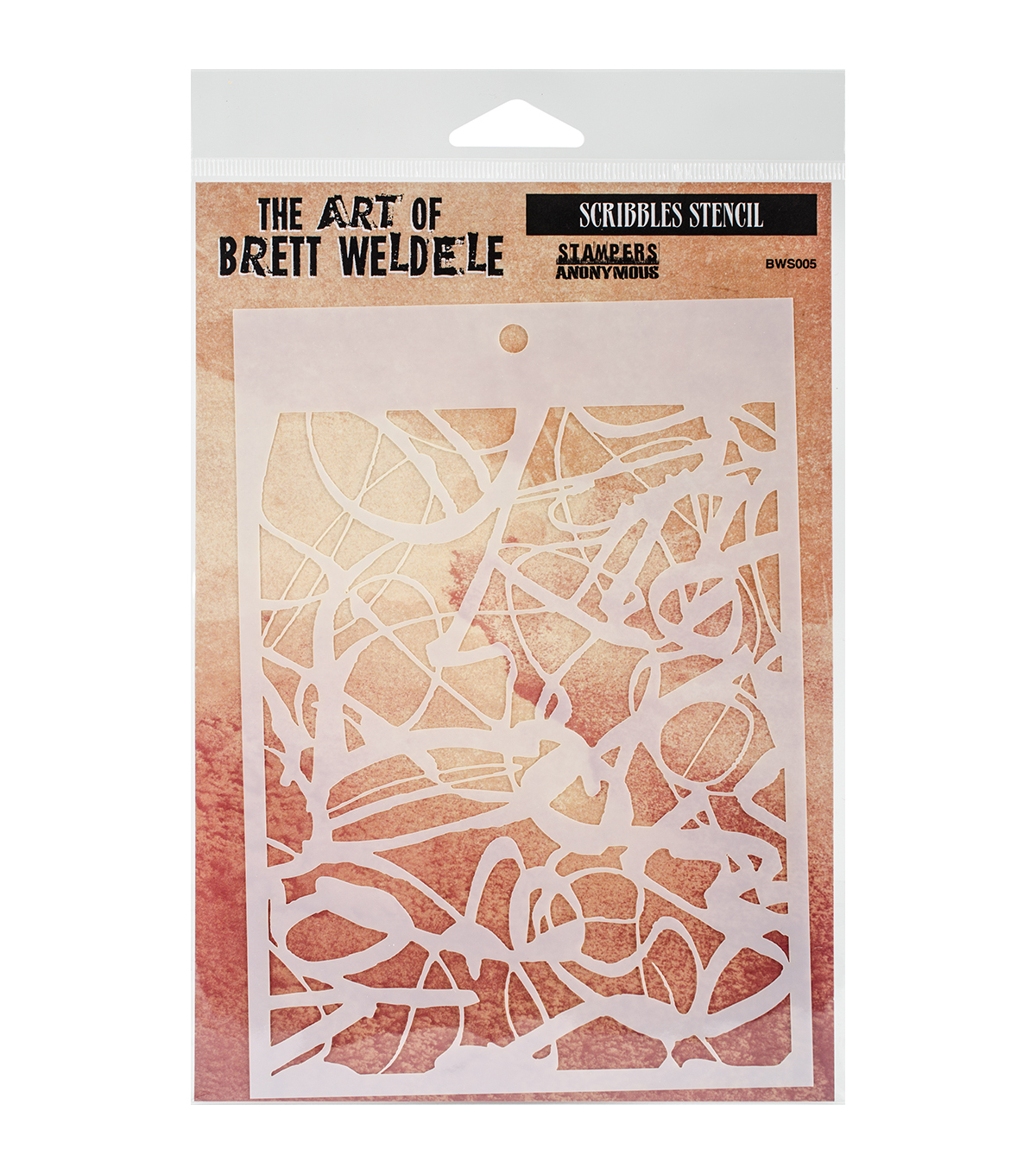 Stampers Anonymous The Art of Brett Weldele Stencil-Scribbles