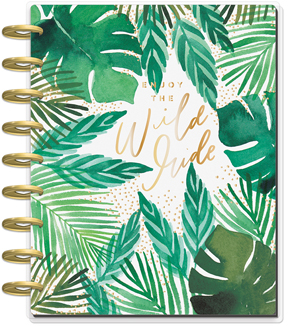 Happy Planner 12 Month Classic Planner-Greenery