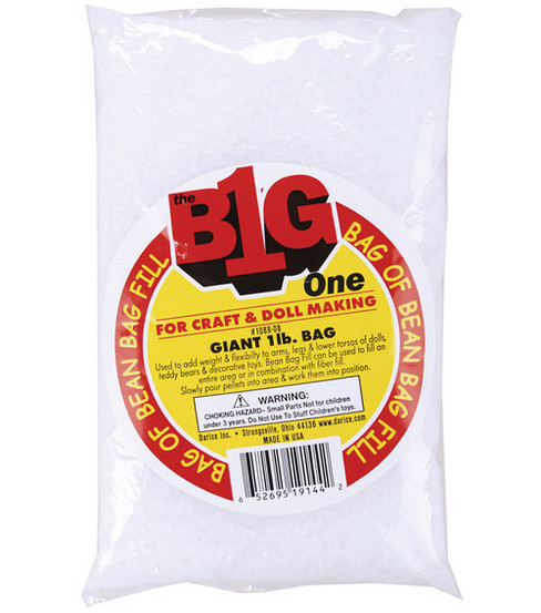 Darice Bean Bag Filler 16 Oz