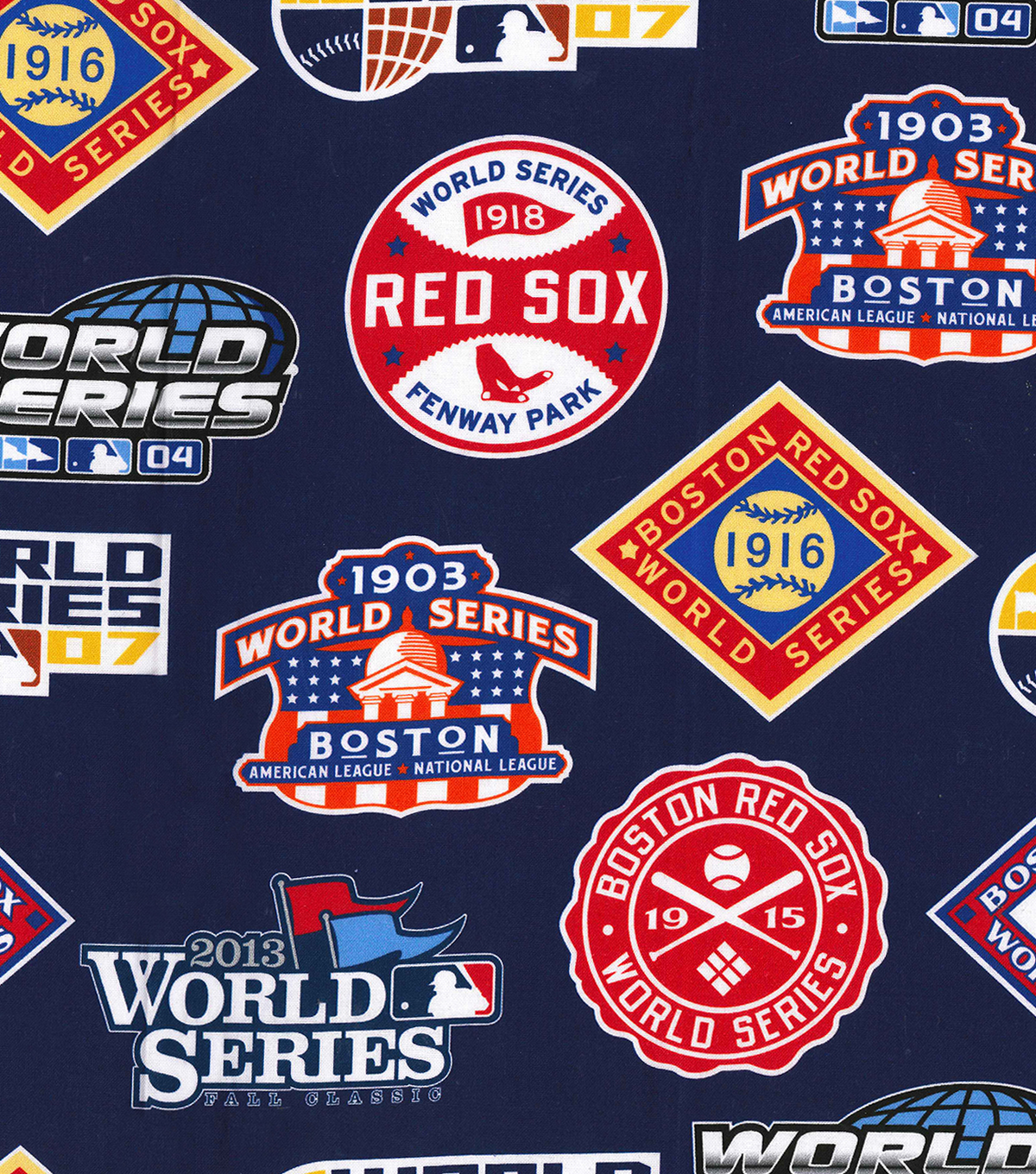 Boston Red Sox Cotton Fabric -Champion Legacy