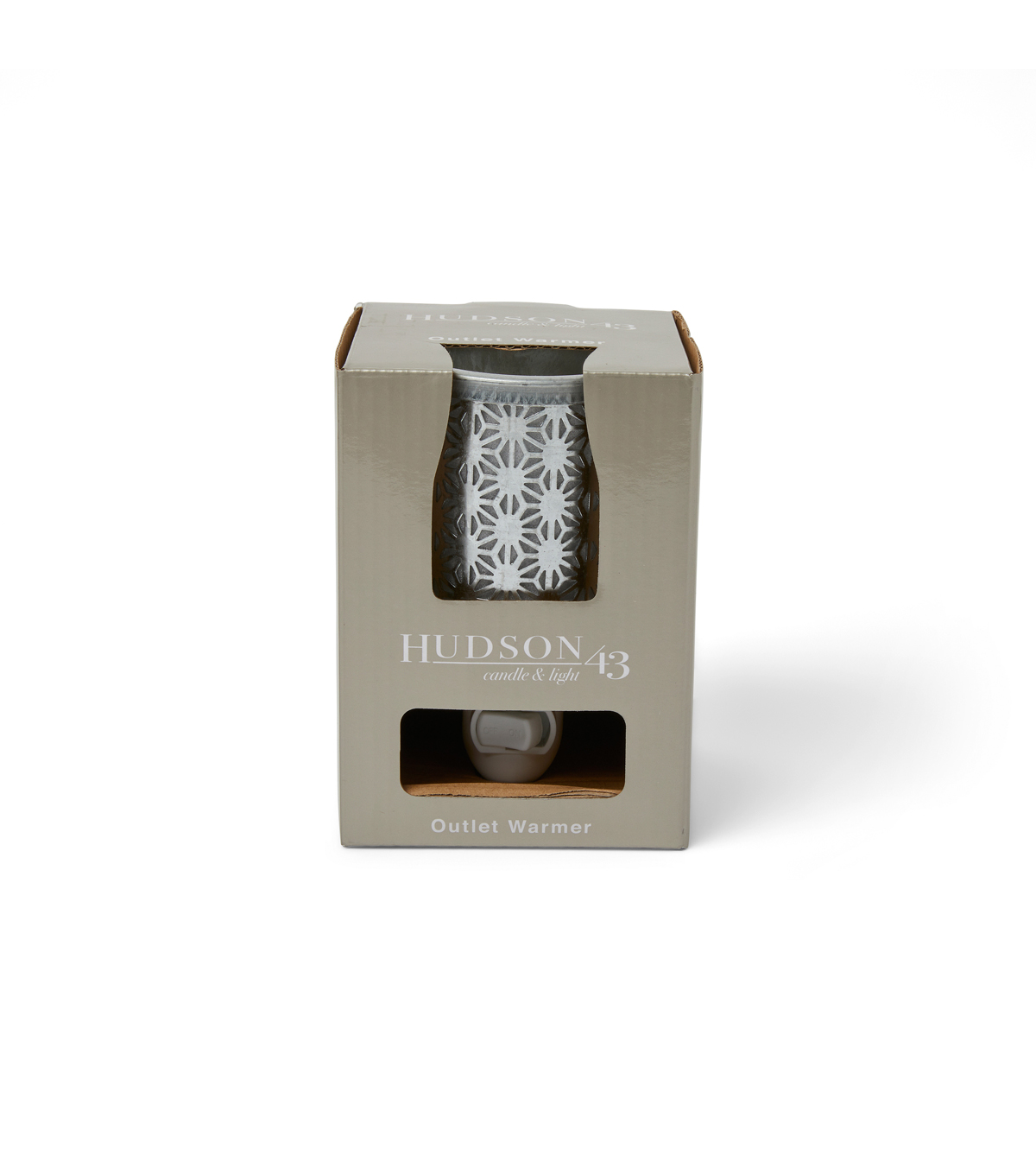 Hudson 43 Candle & Light Galvanized Plug-in Wax Warmer
