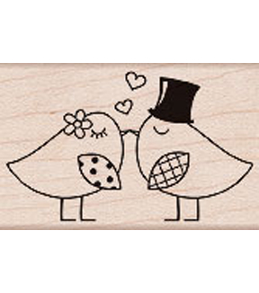 Two Birds Stamp