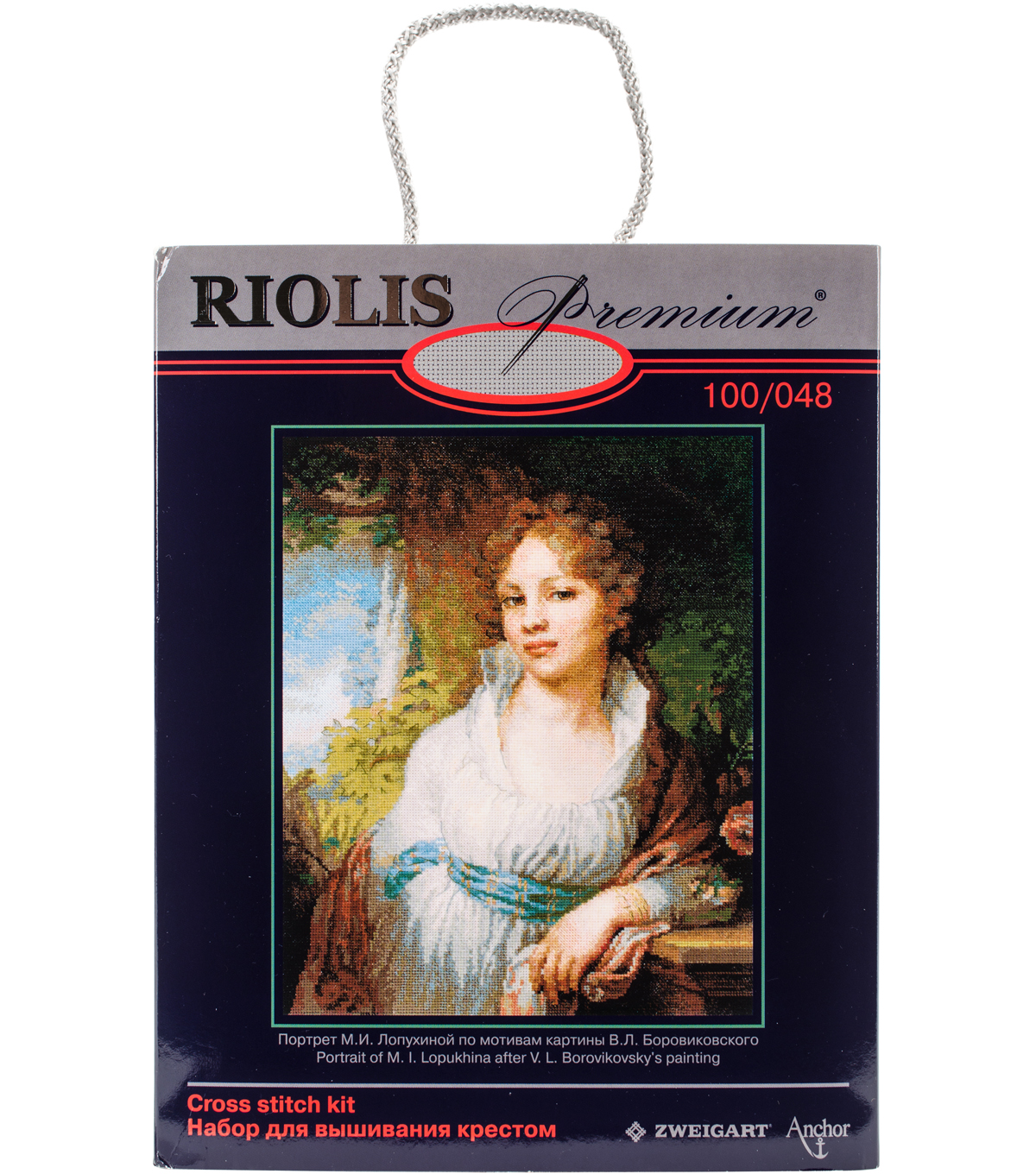 RIOLIS 11.75\u0027\u0027x15\u0027\u0027 Counted Cross Stitch Kit-Portrait of M.I. Lopukhina