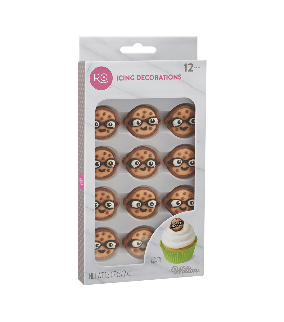 Rosanna Pansino By Wilton 12ct Nerdy Nummies Icing Decorations