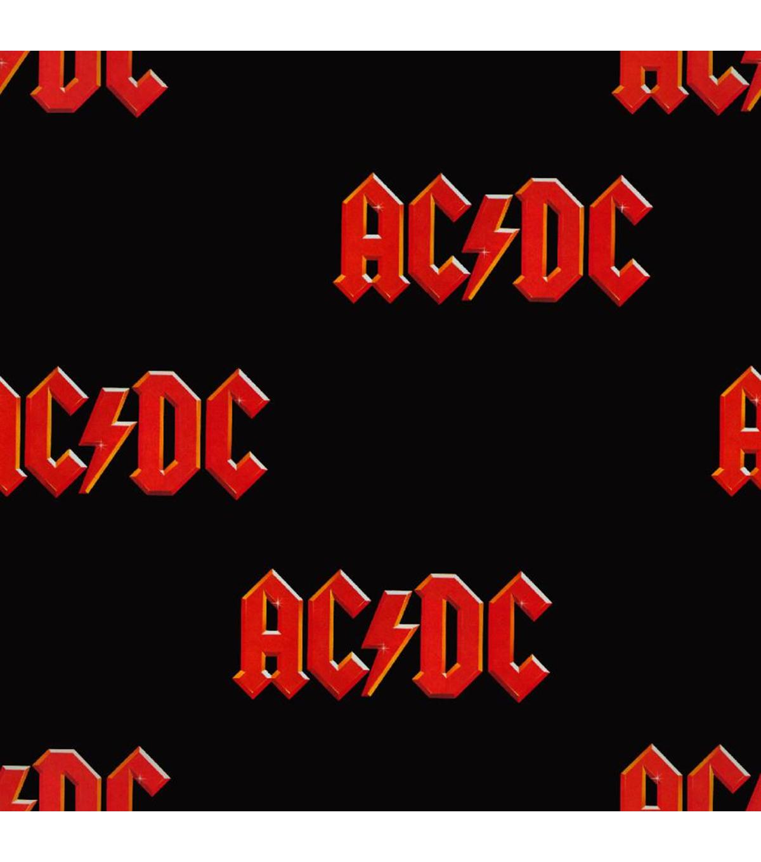 Acdc Cotton Fabric Traditional Logo Joann