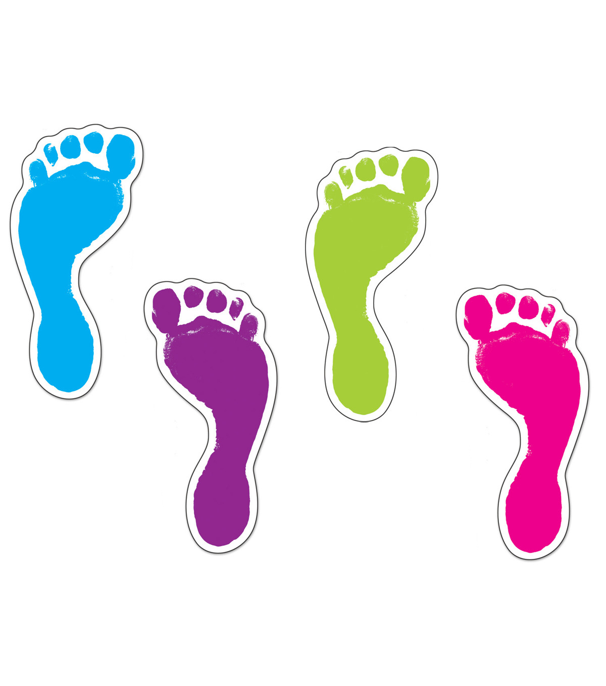 Footprints Accents 36/pk, Set Of 6 Packs