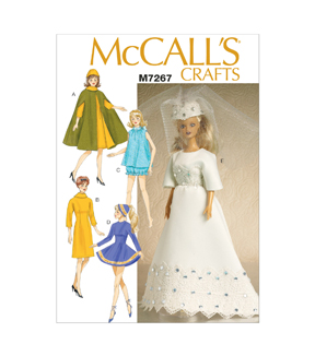 McCall\u0027s Crafts Doll Clothes-M7267