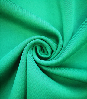 Scuba Knit Fabric-Emerald Green