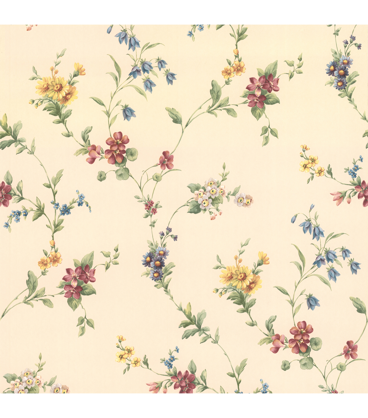 Yelena  Floral Trail Wallpaper Sample