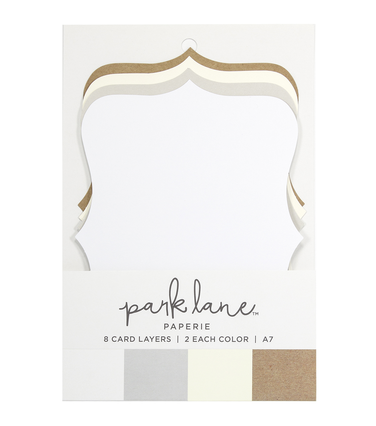 Park Lane 8 pk A7 Cartouche Card Layers