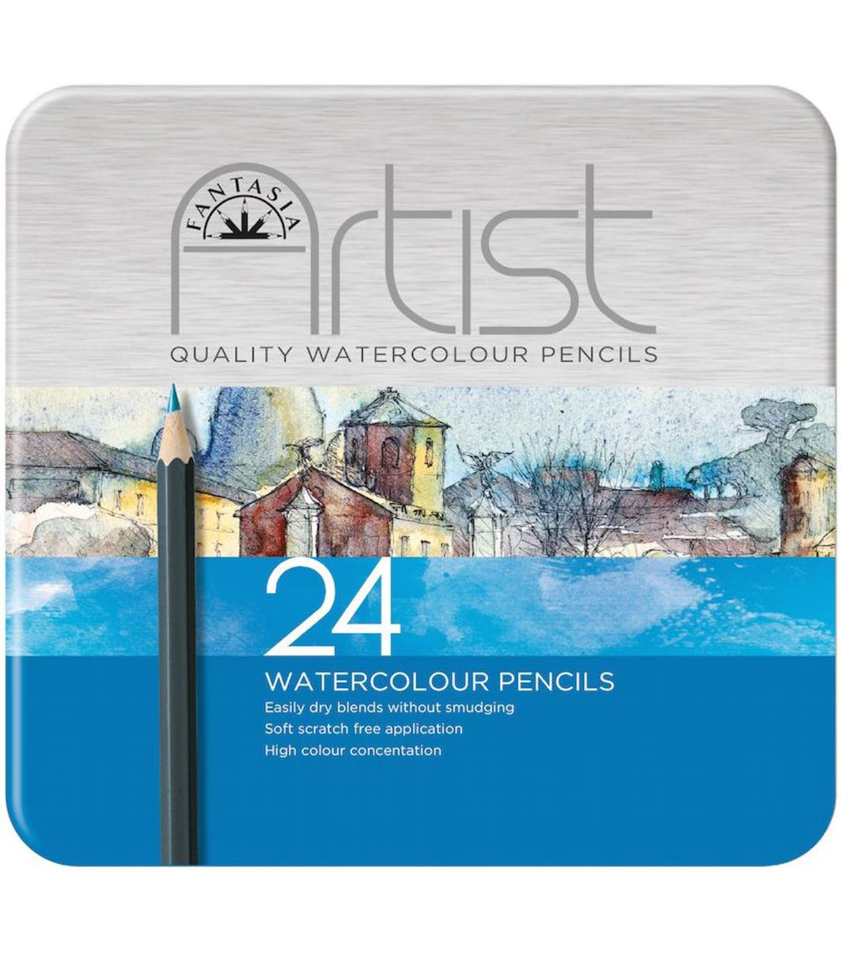 Fantasia 24pcs Premium Watercolor Pencil Set