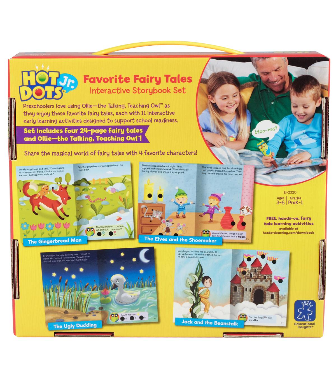 Hot Dots Jr Favorite Fairy Tales Interactive Storybook Set Joann