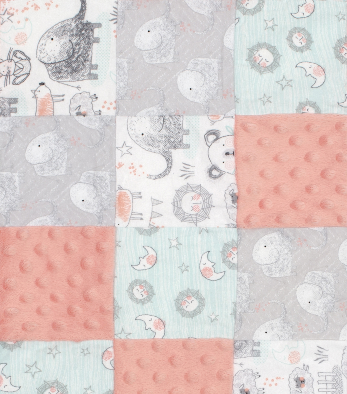 Nursery Patchwork Fabric Whimsy