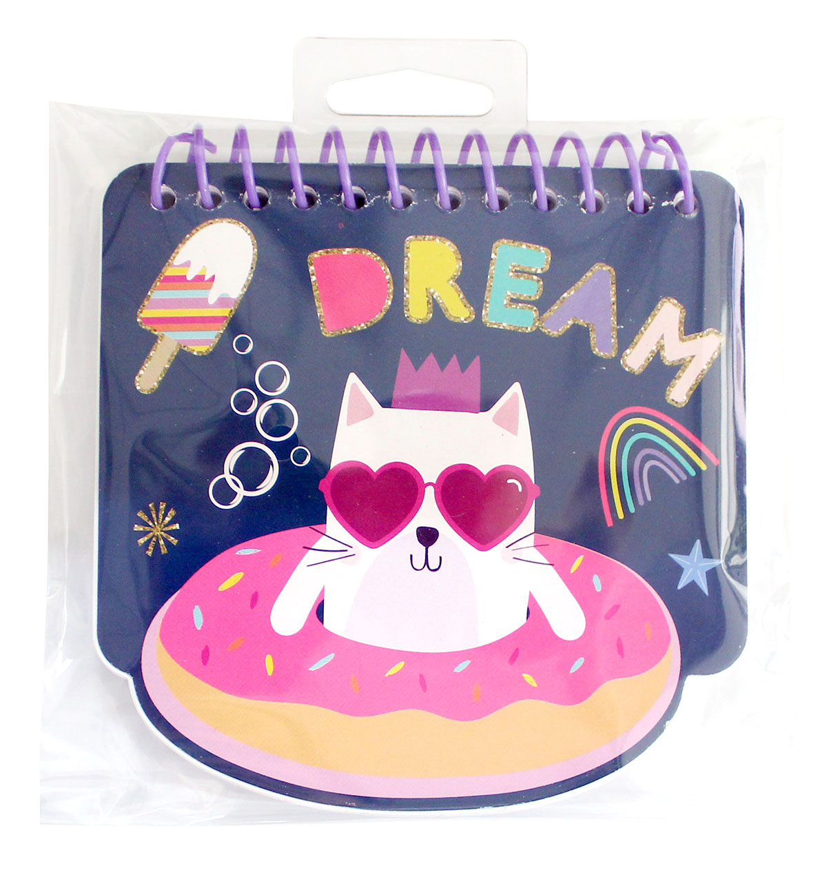 Little Makers Mini Notebook-Cat Magical
