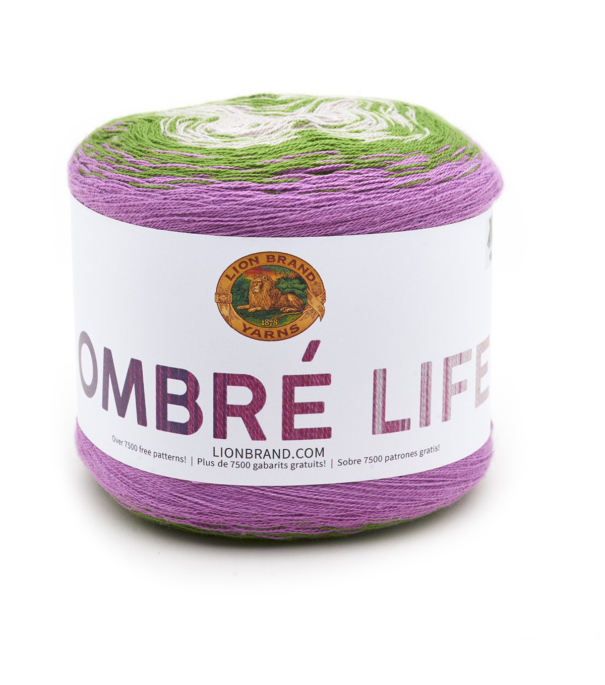 Lion Brand Ombre Life Yarn, Nap Time