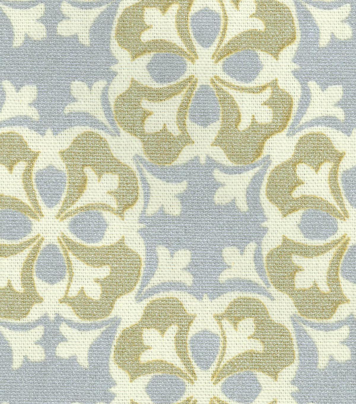 Waverly Upholstery Fabric 54\u0027\u0027-Gilded Courtyard