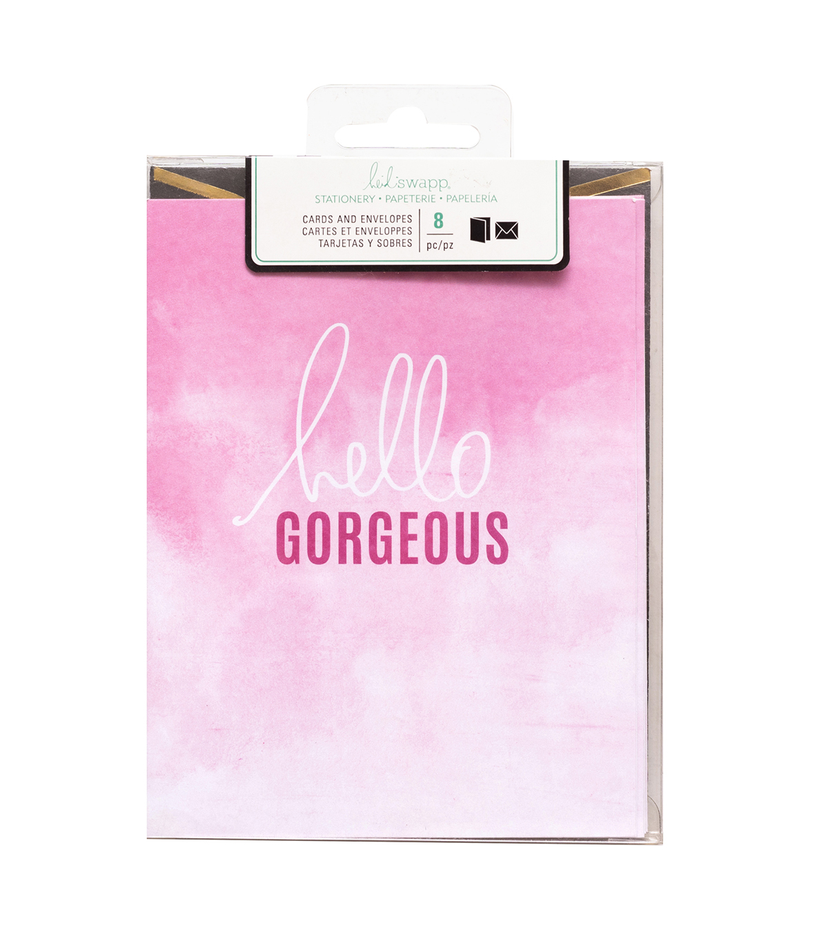Heidi Swapp Stationery A2 Hello Gorgeous