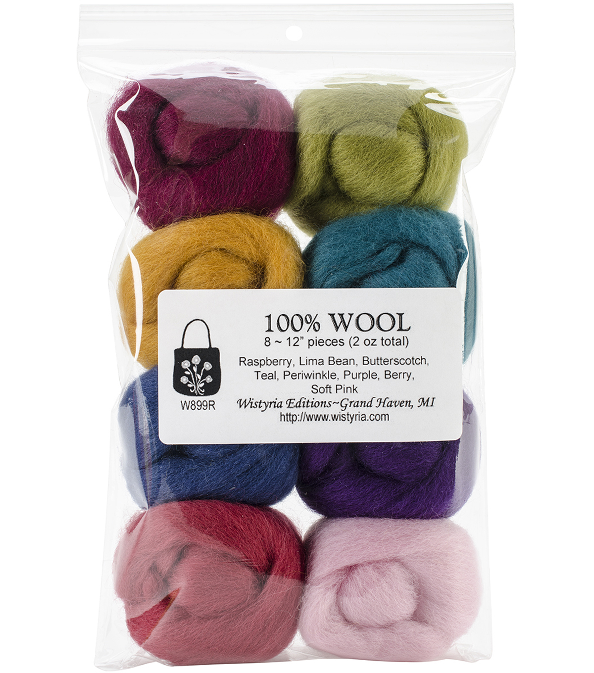 Wistyria Editions Ultra Fine Wool Roving, Designer