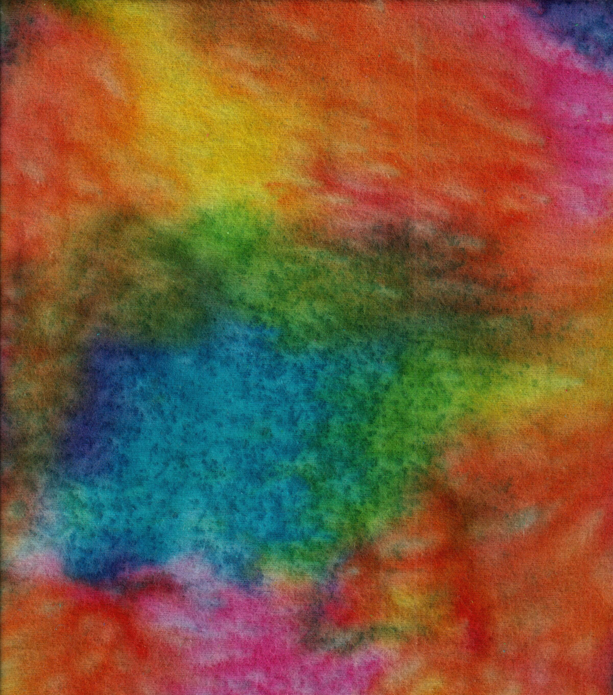 Snuggle Flannel Fabric 42\u0027\u0027-Rainbow Watercolor