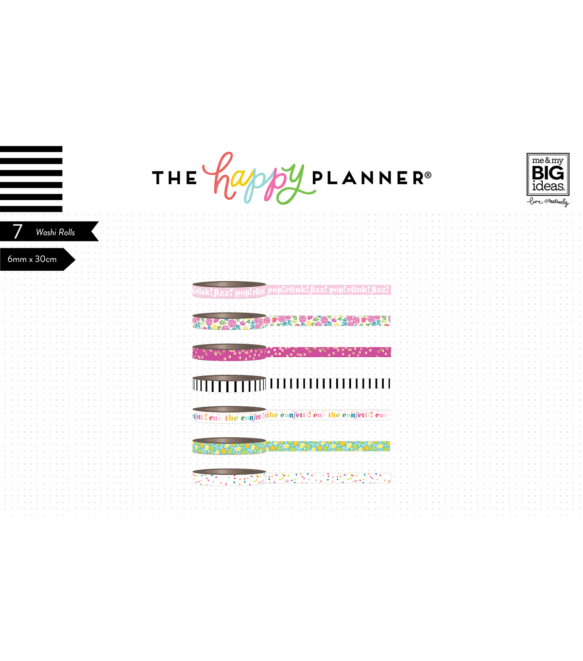 The Happy Planner Girl Washi Tape-Happy Hostess