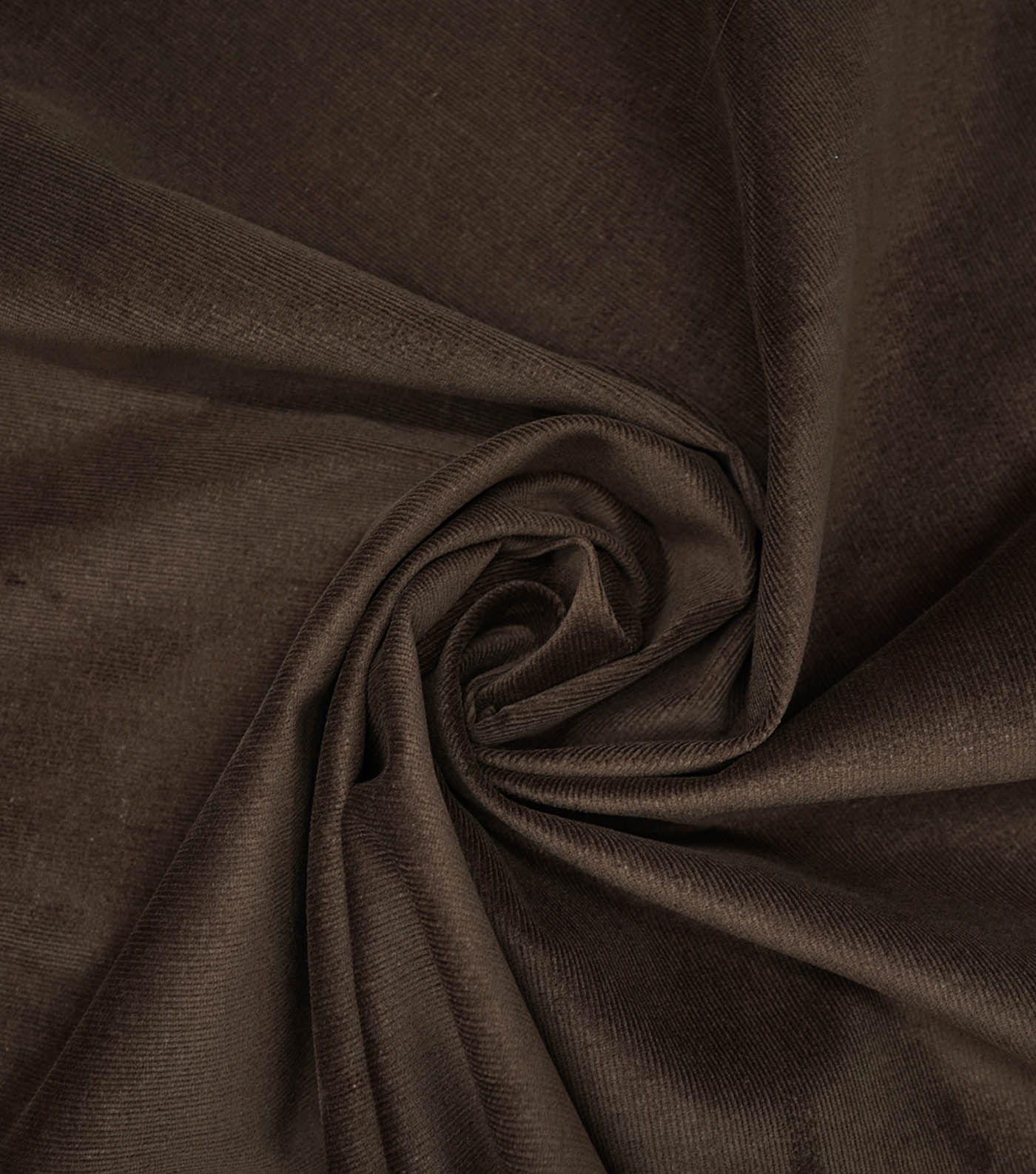 Sportswear Stretch Corduroy Fabric -Brown