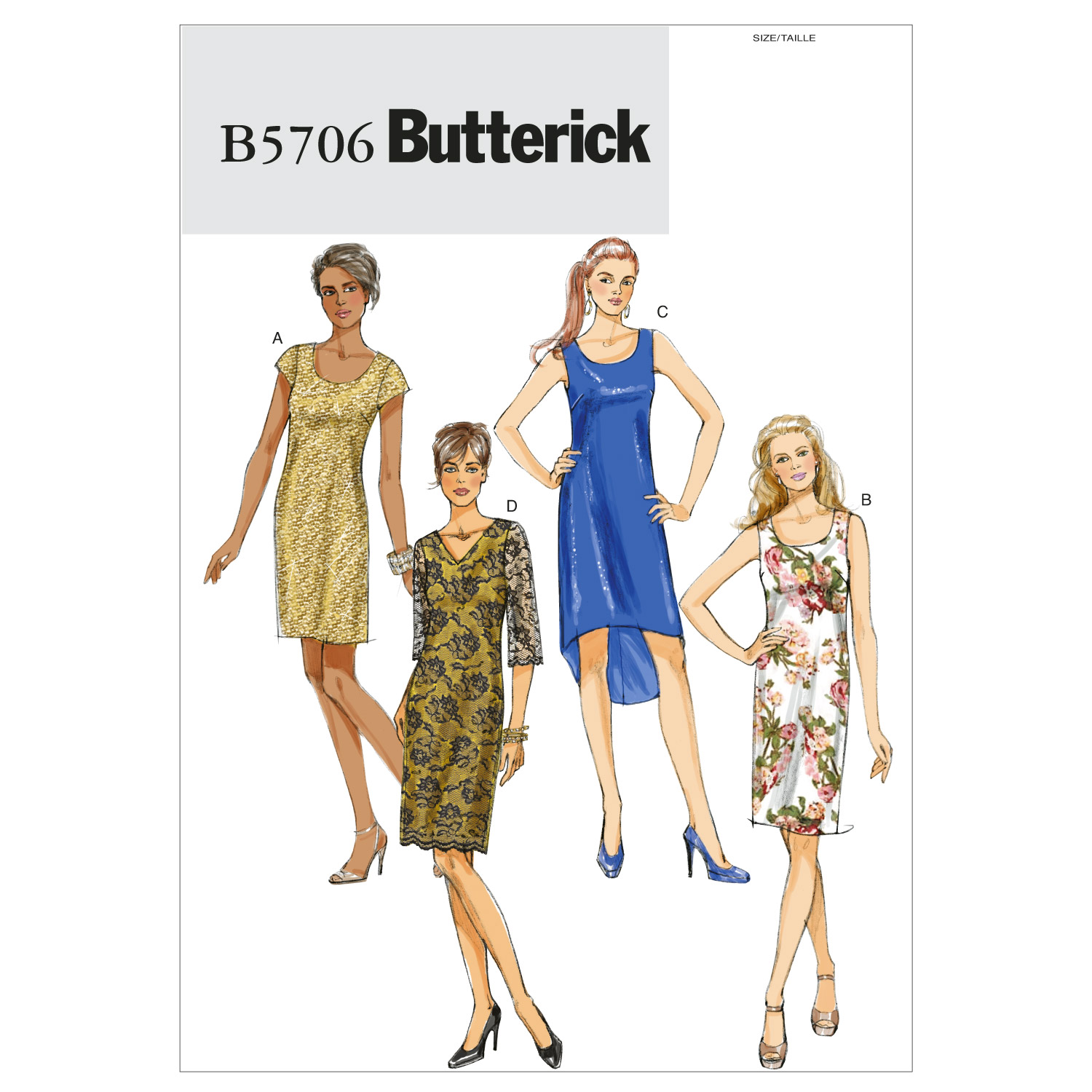 Butterick Misses Dress-B5706