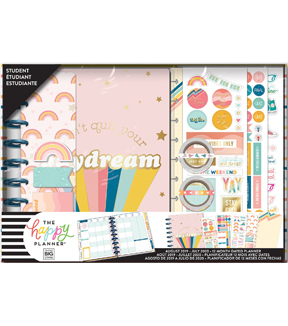 The Happy Planner 12-Month Dated Medium Planner Box Kit-70\u0027s Vibe