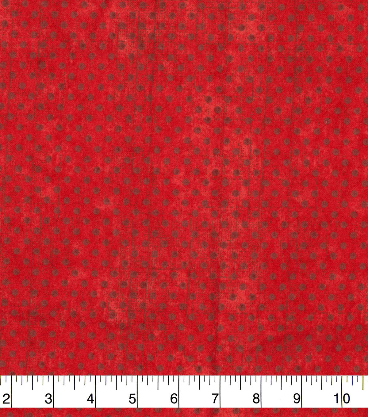 Wide Flannel Fabric-Red Dots