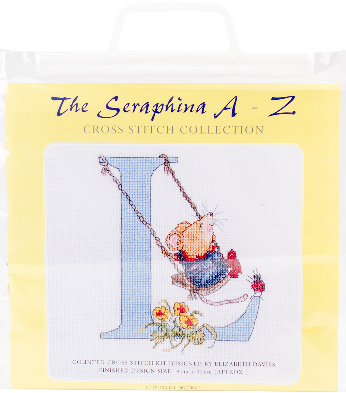 CWOC/Seraphina Counted Cross Stitch Kit 5.5\u0022X4.25\u0022-L