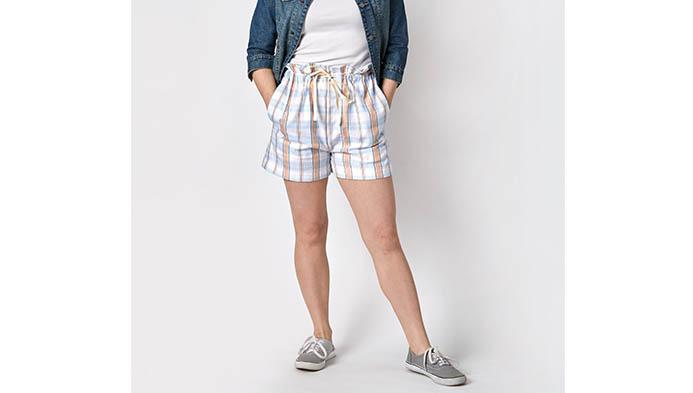 Sew Drawstring Shorts